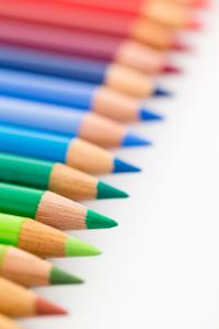 Buntstifte für Kreativtherapie